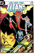 New Teen Titans (1984 2nd Series) New Titans 1
