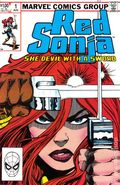 Red Sonja (1983 3rd Marvel Series) 1