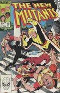 New Mutants (1983 1st Series) 10