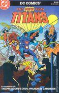 New Teen Titans (1980) Drug Awareness 1B