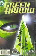 Green Arrow (2001 2nd Series) 1DFSIGNED