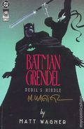 Batman Grendel Devil's Riddle (1993) Autographed 1