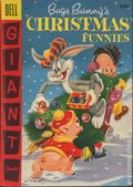 Dell Giant Bugs Bunny's Christmas Funnies (1950) 7