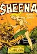 Sheena Queen of the Jungle (1942 Fiction House) 1