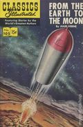 Classics Illustrated 105 From the Earth to the Moon (1953) 8