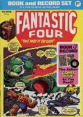 Fantastic Four Book and Record Set (1974 Power Records) PR13-R