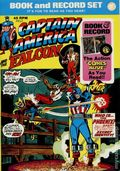 Captain America and the Falcon Book and Record Set (1974 Power Records) PR12-R