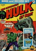 Incredible Hulk Book and Record Set (1974 Power Records) PR11-N