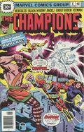 Champions (1975 Marvel) 30 Cent Variant 6