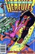 Hercules (1984 2nd Series Marvel) 3