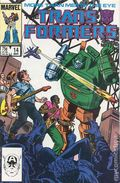 Transformers (1984 Marvel) 1st Printing 14