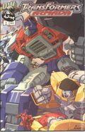 Transformers Armada Chrome Cover (2002) 1