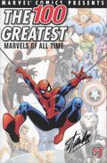 100 Greatest Marvels of All Time (2001) DF Signed 10