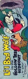 Lil Bad Wolf in the Hollow Tree Hideout Mini Comic (1950) 5