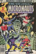 Micronauts (1979 1st Series) Annual 1