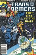 Transformers (1984 Marvel) 1st Printing 39