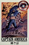 Captain America (2002 4th Series) 1DFSIGNED