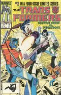 Transformers (1984 Marvel) 1st Printing 2