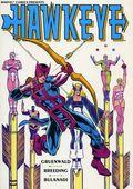Hawkeye TPB (1988 Marvel) By Mark Gruenwald 1-1ST