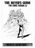 Comics Buyer's Guide (1971) 52