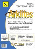 Comic Sleeve: Silver/Gold Arklite 50pk (#161-050)