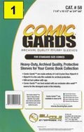 Comic Sleeve: Standard Comic-Guard 1pk (#058-001)