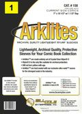 Comic Sleeve: Current Size Arklite   1pk (#158-001)