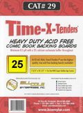 Comic Boards: Spr Gld Time-X-Tender 25pk (#029-025)