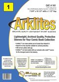 Comic Sleeve: Silver/Gold Arklite 1pk (#161-001)