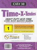 Comic Boards: Magzine Time-X-Tender  1pk (#030-001) 
