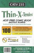 Comic Boards: Standard Thin-X-Tender 100pk (#235-100)