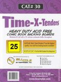 Comic Boards: Magazine Time-X-Tender 25pk (#030-025)