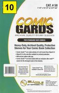 Comic Sleeve: Standard Comic-Guard 10pk (#058-010)