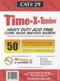Comic Boards: Super Gold Time-X-Tender 50pk (#029-050)