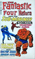 Fantastic Four Return Collector's Album PB (1967 Lancer) 1-1ST