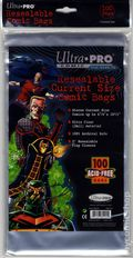 Comic Bags: Current Resealable 100pk Polypropylene