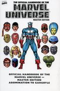 Essential Official Handbook of the Marvel Universe TPB (2008 Marvel) Master Edition 1-1ST