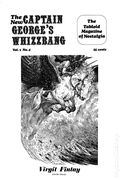 Captain George's Whizzbang, New (1968) Fanzine 4