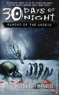 30 Days of Night Rumors of the Undead PB (2006 Novel) 1-1ST