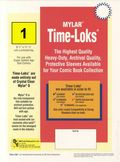 Comic Sleeve: Super Gold Time-Loks 1pk (#814-001)