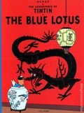 Adventures of Tintin The Blue Lotus GN (1974) 1-REP