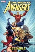 Mighty Avengers Assemble HC (2009 Marvel) Deluxe Edition 1A-1ST