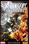 Avengers Invaders Sketchbook (2008 Marvel) 0