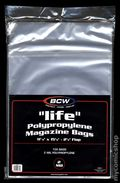 Comic Bags: Life Magazine 100pk Polypropylene (BCW) 