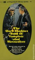 Dark Shadows Book of Vampires and Werewolves PB (1970 Novel) 1-1ST