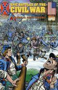 Epic Battles of the Civil War GN (1998 Historical Comics) 4-1ST