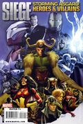 Siege Storming Asgard Heroes and Villains (2010) 1A