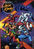 Art of Jack Kirby SC (1992 Blue Rose Press) 1-1ST