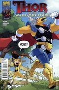 Thor and the Warriors Four (2010 Marvel) 2