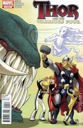 Thor and the Warriors Four (2010 Marvel) 4